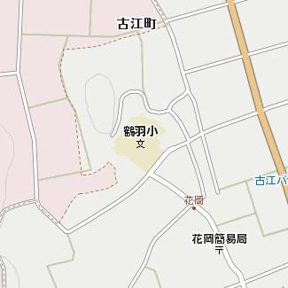 鶴は小学校地図