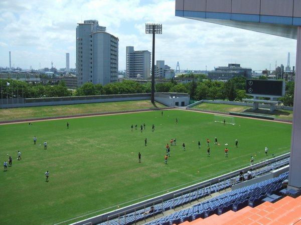 スタジアム紹介名古屋市港サッカー場-23