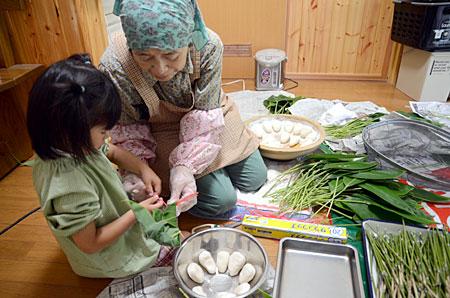 笹巻き作り