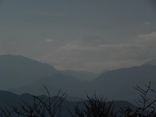 霊峰富士 高尾からの眺め