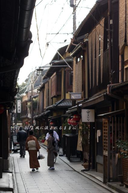 2013年3月 京都・花見小路通周辺の風景2