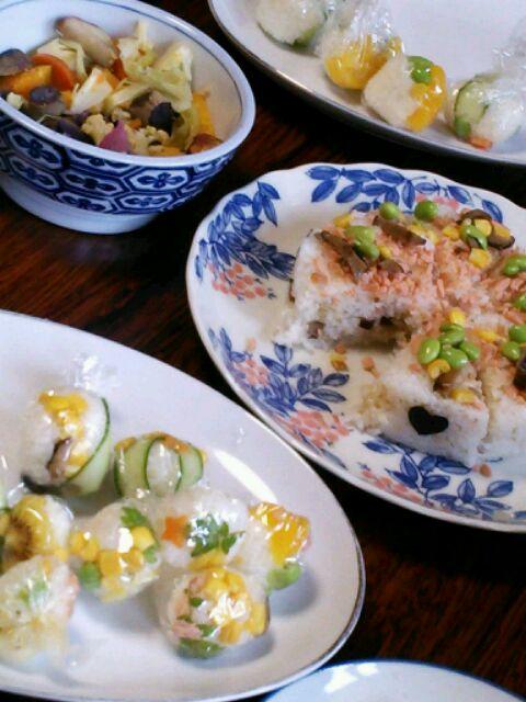 手まり寿司&お寿司のケーキ