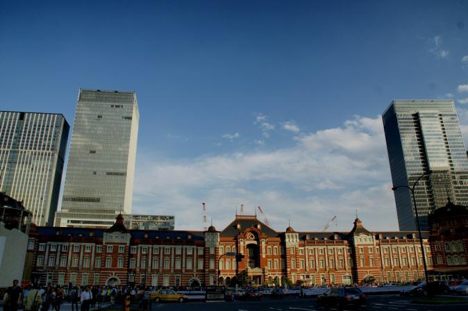 DSC01146東京駅&城南島