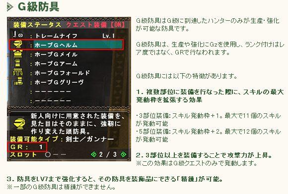 G級防具-2