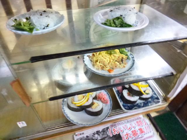 巻き寿司が美味しそうですね