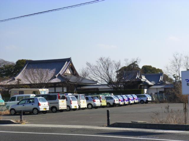 見えているのは金蔵寺です