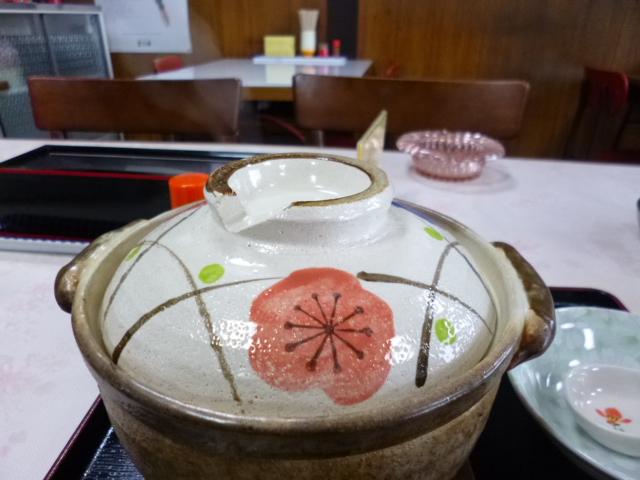 これが鍋焼きうどんの土鍋です