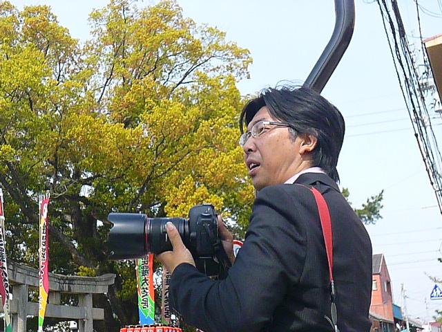 旅行ジャーナリストの坪内さんです