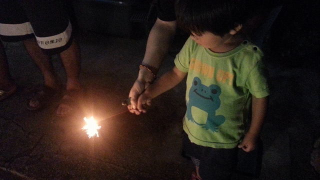 花火と匠蔵