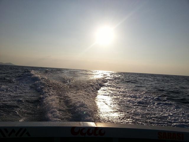 海は穏やかのようです
