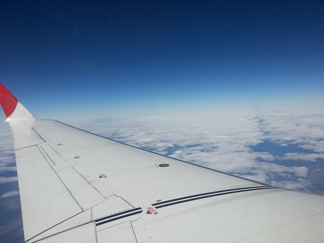 上空はいい天気
