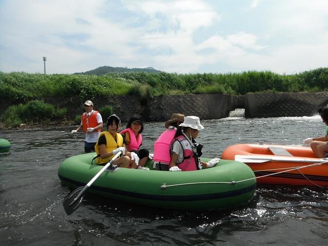 長女のボート