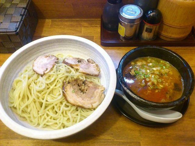 龍花のつけ麺