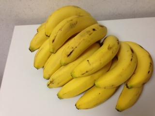 バナナ 17本