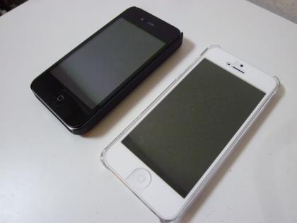 神戸ライフ:iPhone4Sと5
