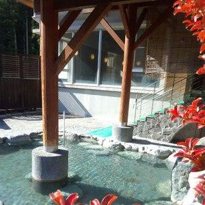 秋の紅葉~大自然満喫の露天風呂