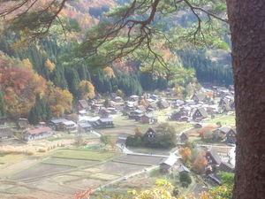 秋~荻町城跡地展望台