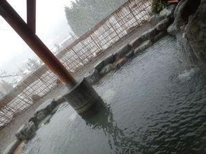 露天風呂~雪見!