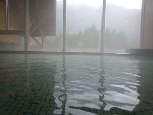 内湯~「大白川温泉 しらみずの湯」