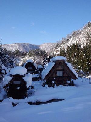 冬~風景 下ゴソ地区①