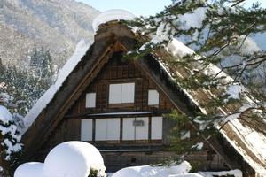 国重文 和田家 冬風景