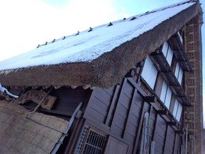 急角度の屋根