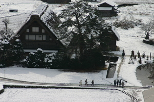 国重文 和田家~冬の風景