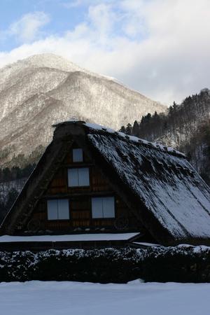かん町 附近~冬風景