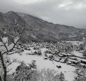 冬の白川郷も見てみたい!