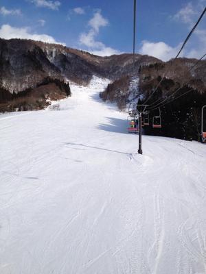 白川郷平瀬温泉 白弓スキー場