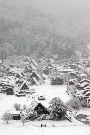 冬の絶景~白川郷