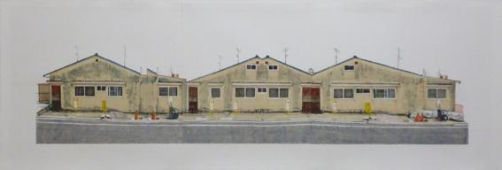 岸雪絵「delta roof」