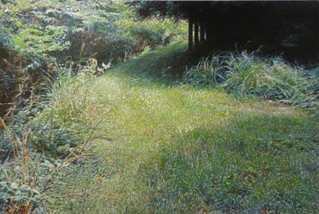 鶴田憲次「-niwa-2012 緑 (和束)-1」