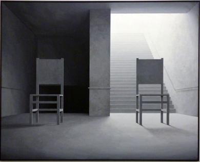山本桂右「Staircase #1」