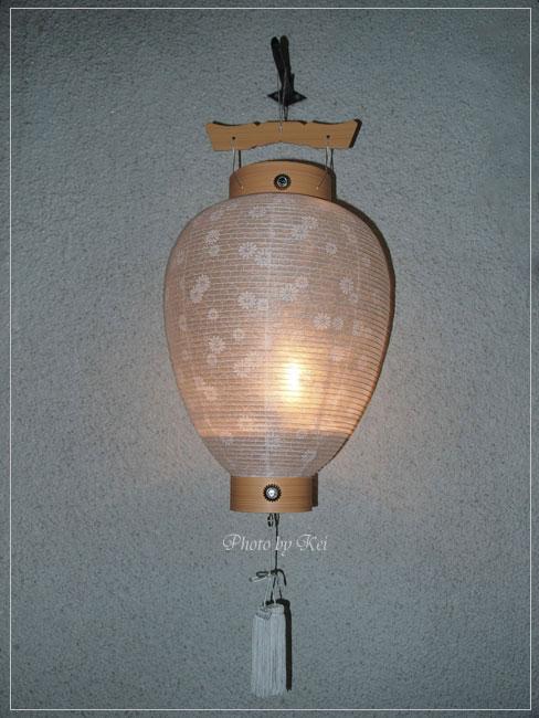 新盆・吊り提灯♪