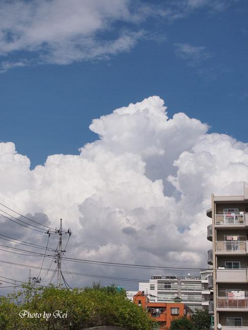 モコモコ雲♪