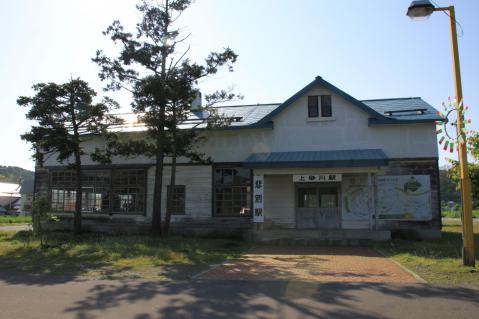 上砂川(悲別)駅