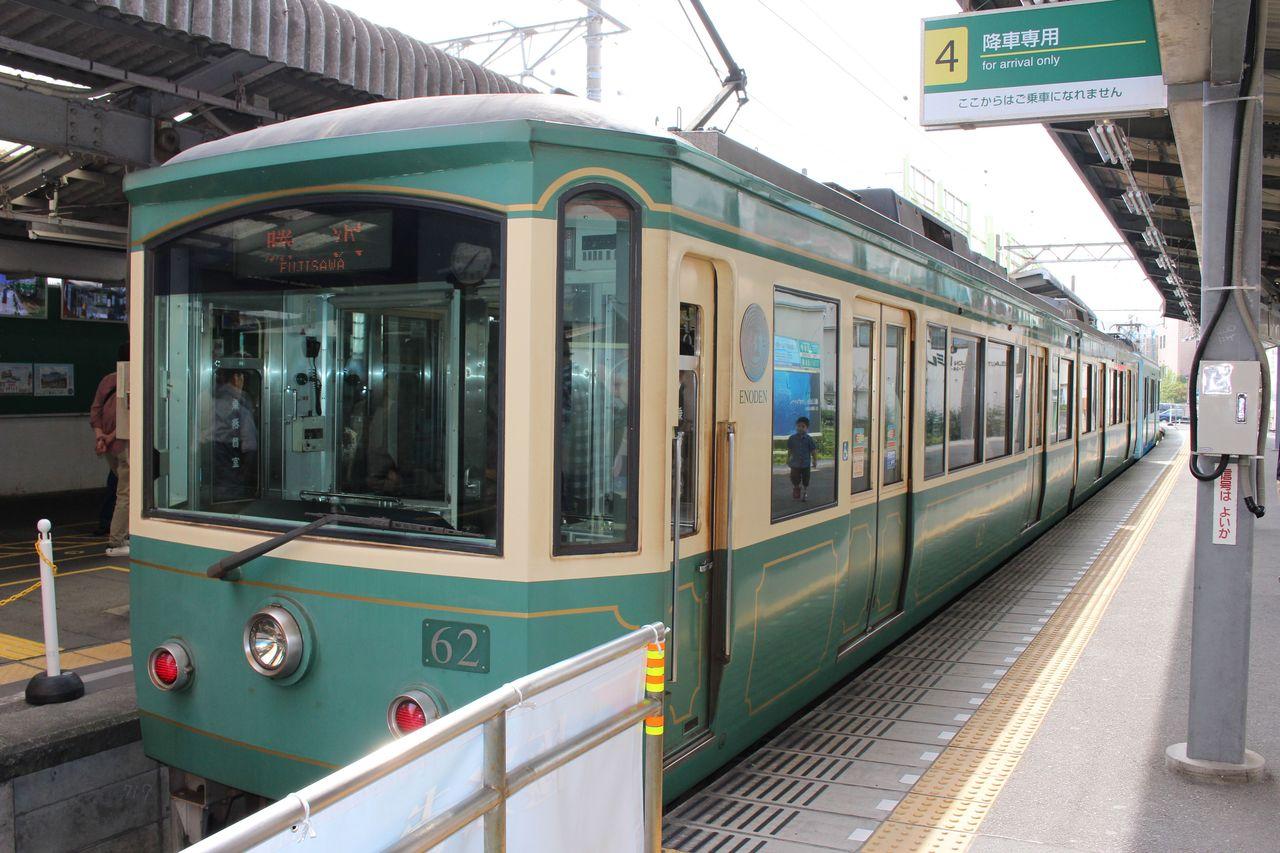 江ノ電-鎌倉駅