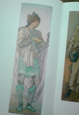 自分の服を裂く聖マルティヌス