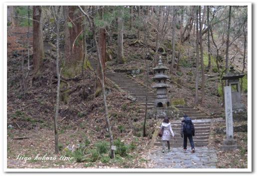 滝尾神社付近