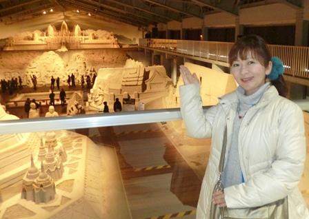 砂の美術館 3D①