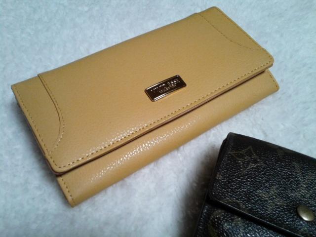 黄色い財布