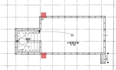 金庫の場所平面図