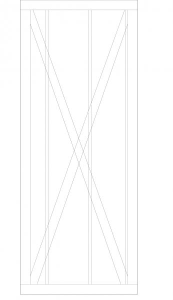 玄関筋交い寸法2