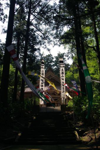 大麻山神社拝殿