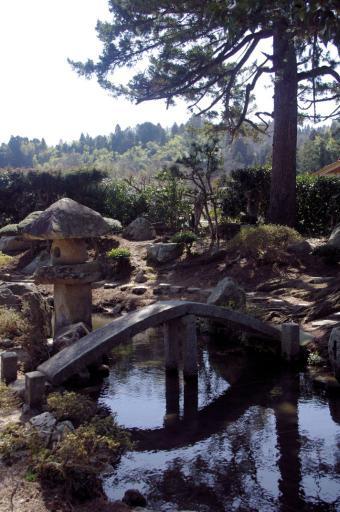 卜蔵庭園の橋