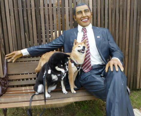 オバマさん ニコニココロ