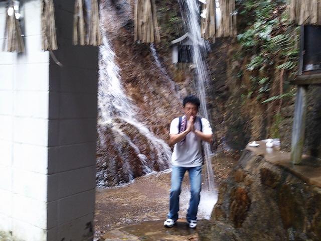 灘の名スポット『静香園』&『不動の滝』に行ったよ~(^^♪