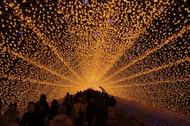 光のトンネル1