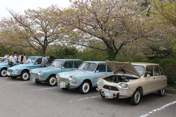 瀬戸内与島ヨーロッパ車ミーティング2013③